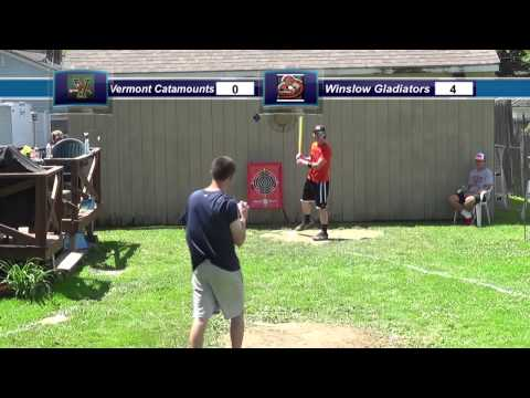 Backyard Wiffleball Tournament Game 2: Vermont vs. Winslow