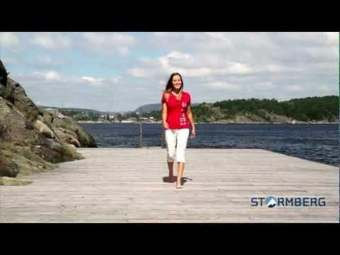 7edda2d6 Stormberg catwalk - Oksøy t-skjorte og Havglimt stretch knebukse dame