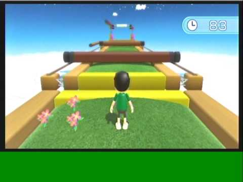 Wii Workouts Wii Fit Plus Obstacle Course Youtube