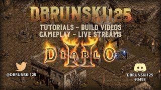 Diablo 2 - MF Bone Necro farming the pits!!!! 12/17/2018