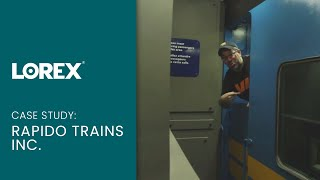 Lorex security camera system case study - The guy with the train in his basement