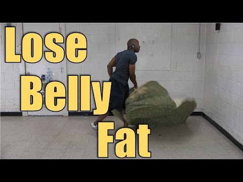 How to Lose Belly Fat Fast (Bed Sheet Workout #4)