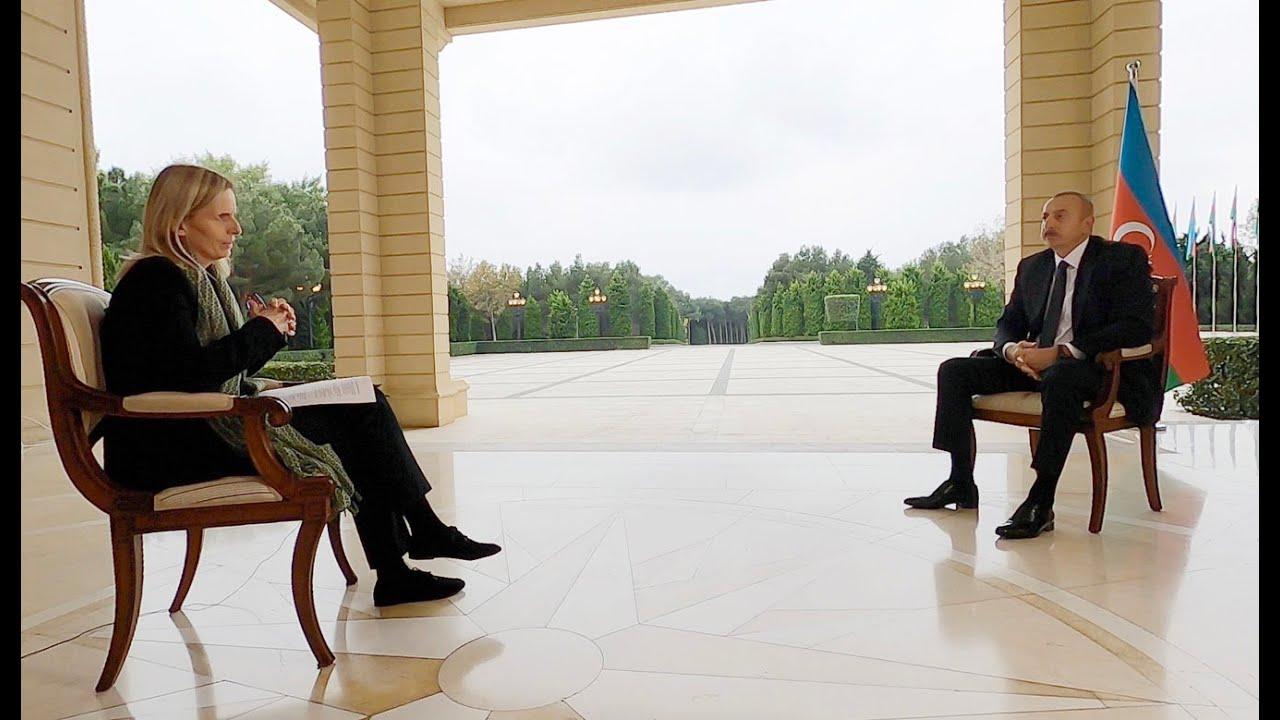 """İlham Əliyev """"BBC News""""a müsahibə verib - YouTube"""