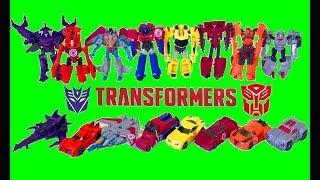 Трансформеры Игрушки 8 Роботов Машинок Оптимус Прайм Бамблби Мультики про Машинки для Детей