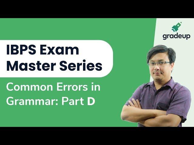English | Class 8 | Common Error in Grammar | Part D | Sanoujam DB