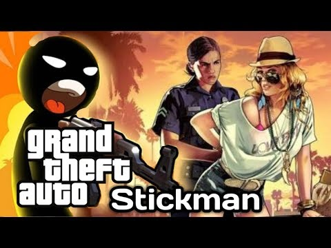 7 STICKMAN GAMES LIKE Grand Theft Auto (GTA) FOR ANDROID/iOS