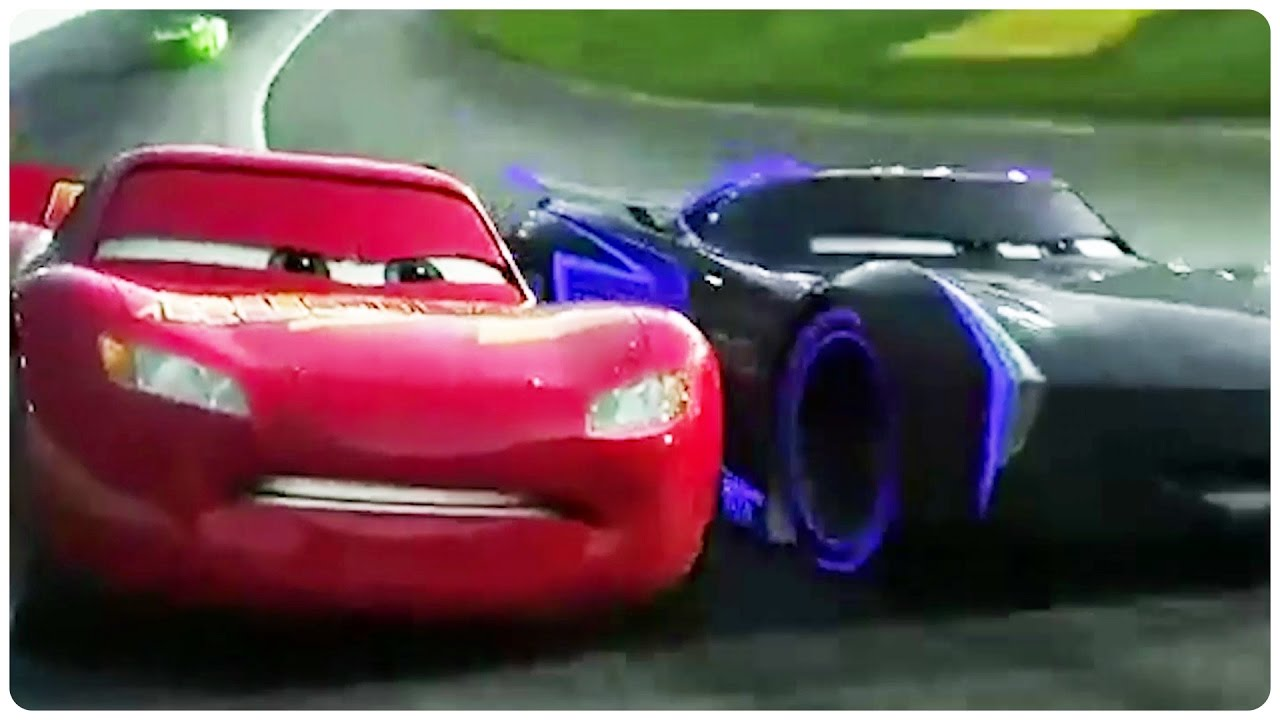 Cars Racing World Trailer Disney Pixar Animated Movie