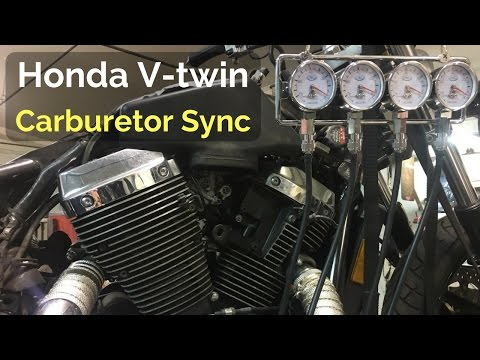 Carburetor Sync: Honda V-twin