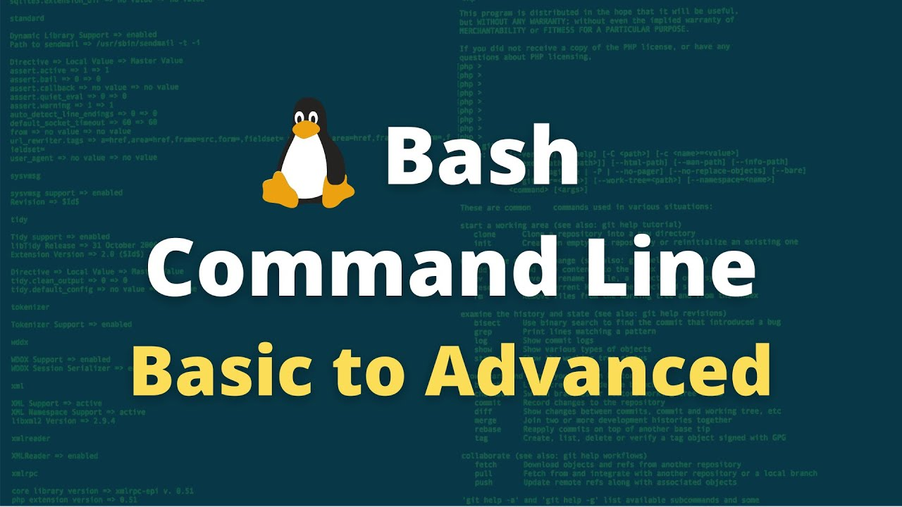 Learn Bash - Basic To Advanced - TNILIVE VIdeos