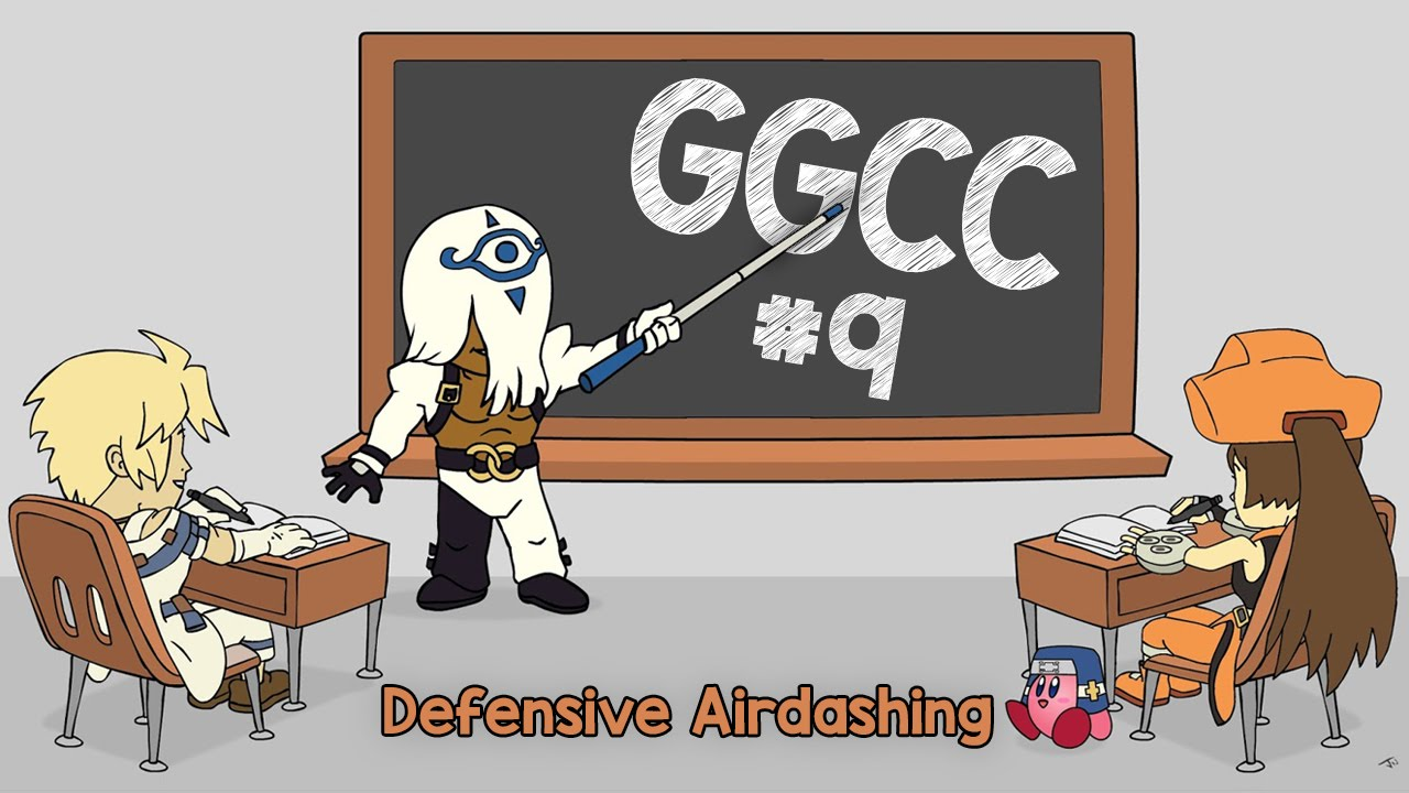 Guilty Gear Crash Course ep.09: Defensive Airdashing