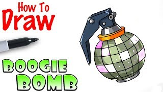 How to Draw Boogie Bomb | Fortnite