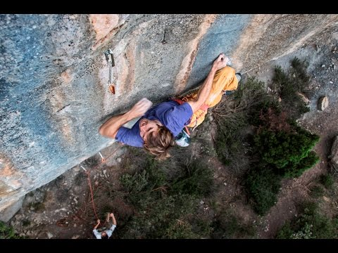"Chris Sharma ""Futuristic Old School"""