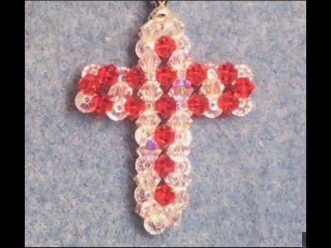 Swarovski crystal Cross pendent