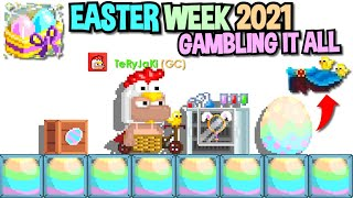 GAMBLING IT ALL DURING EASTER 2021 IN GROWTOPIA...