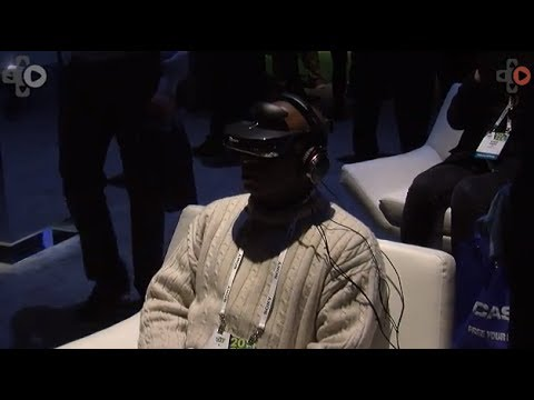 Sony Head Mounted Display HMZ-T3W Demo