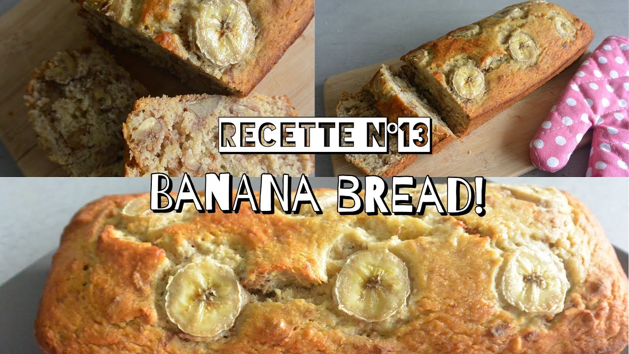 recette healthy n 13 banane bread youtube. Black Bedroom Furniture Sets. Home Design Ideas
