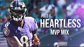 "Lamar Jackson ft. Polo G - ""Heartless"" ᴴᴰ (MVP HYPE)"
