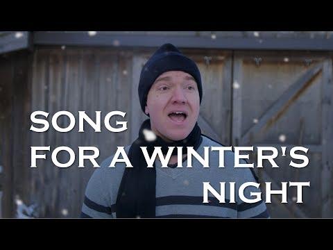 Song for a Winter's Night (Gordon Lightfoot cover) | Jonathan Estabrooks