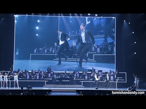 Andy Tap Dances with Hugh Jackman