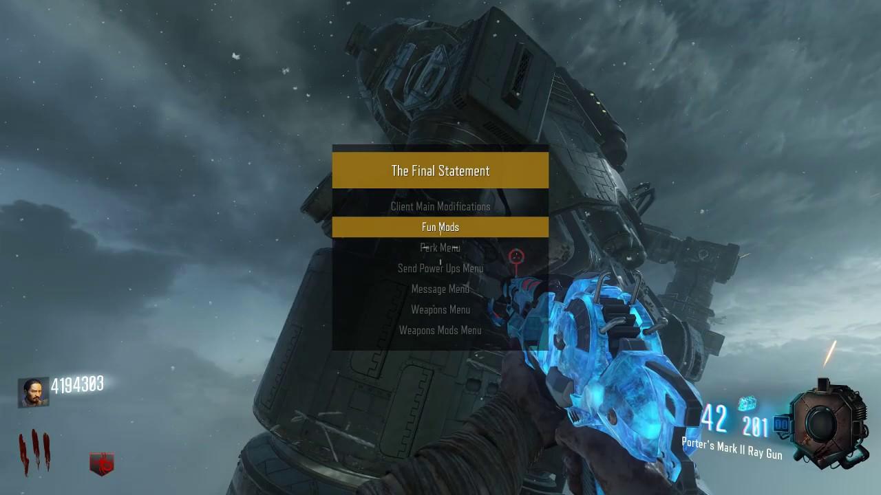 mod bo3 menu download one xbox