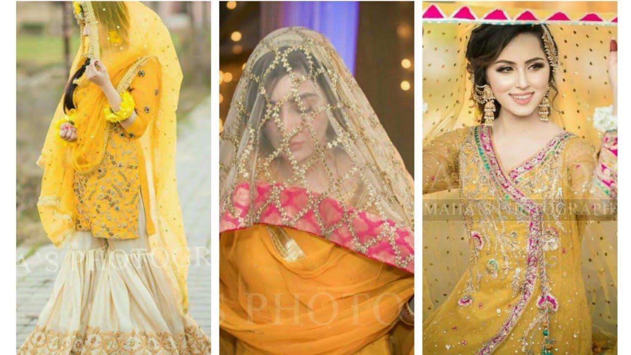Top Stylish Ubtan And Mehndi Dress Collection 2019,2020