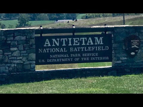 Antietam National Battlefield Tour, Sharpsburg, Maryland