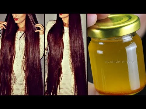 How to make your hair grow faster with home remedies