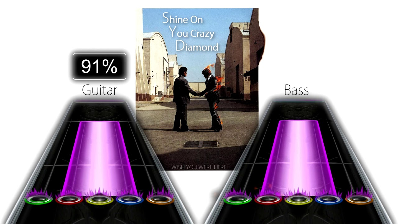 Pink Floyd - Shine On You Crazy Diamond (Parts I-IX) (Clone Hero Chart  Preview)
