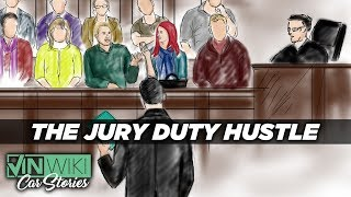 How many cars can Rabbit sell during jury duty?