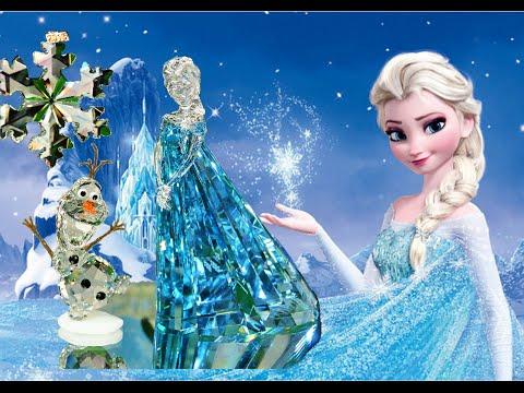 Frozen Elsa Ice Queen | Disney Frozen Swarovski Crystals Queen Elsa Olaf Unboxing Toys Review Frozen