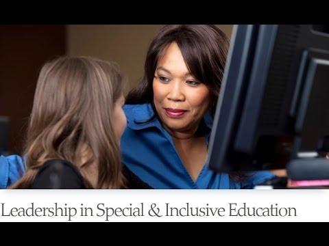 Online Graduate Certificate in Leadership in Special & Inclusive Education at KU