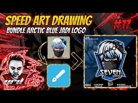Gambar Logo Kepala Arctic Blue Ff Speed Art Buat Logo Bundle Arctic Blue Yerde Youtube