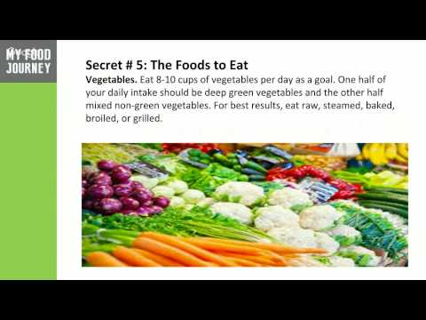 The 5 Most Successful Weight Loss Secrets