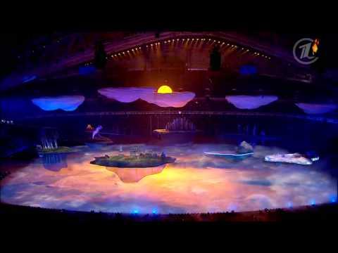 Между землей и небом  Секреты церемонии открытия XXII олимпийских игр в Сочи