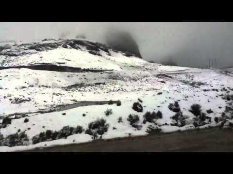 Nevada en Ticlio - Perú HD