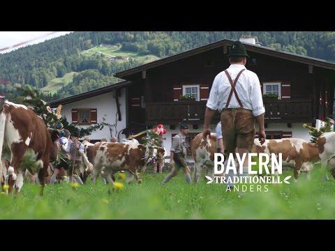 Bayern// Almabtrieb Berchtesgaden Königssee