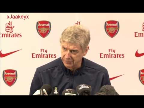 Arsene Wenger - Full Press Conference (Pre AstonVilla)