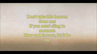 LET IT BE ME WITH LYRICS BY EVERLY BROTHERS