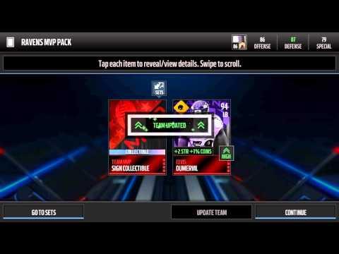 Madden Mobile 16 Elvis Dumervil MVP Set!!!