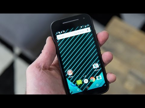 The New Moto E Hands On