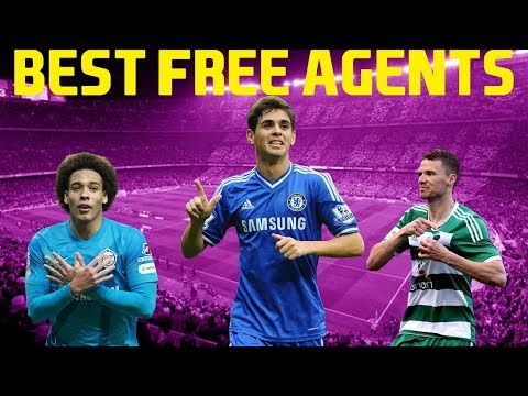 BEST FREE AGENTS IN CAREER MODE - FIFA 18