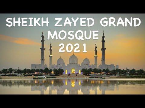 Sheikh Zayed Mosque Abu Dhabi * Universal's Beautiful Mosque * Grand Mosque