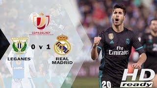 Leganes vs Real Madrid 0-1 Copa Del Rey - Selangkah ke Semifinal | Highlights 19-01-2018