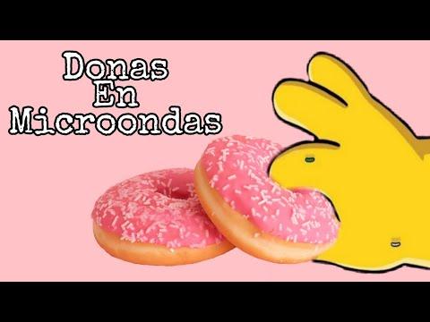 DONAS EN MICROONDAS | Pixela Chef