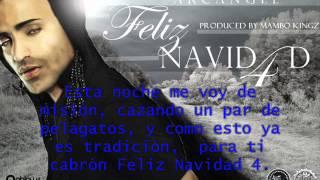 Video Feliz Navidad 4 Arcángel Letra download MP3, 3GP, MP4, WEBM, AVI, FLV November 2017