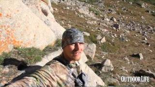 Father and Son Double on Mountain Goat Hunt in Colorado