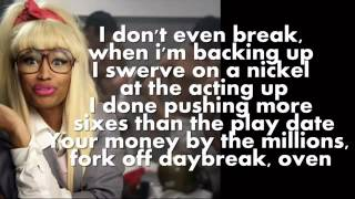 Nicki Minaj - The Boys (Feat. Cassie) [Lyrics On Screen]