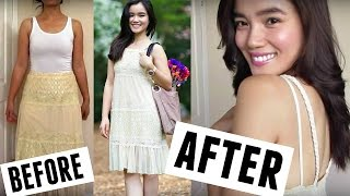 "Diy: ""free People"" Inspire Baby Doll Dress (upcycle)"