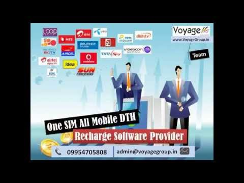 Leading One SIM All Mobile DTH Recharge Software Provider In India