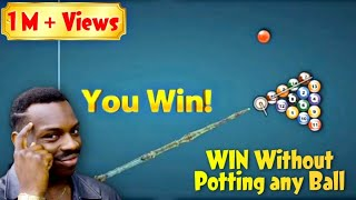 How to win Berlin without potting any ball.